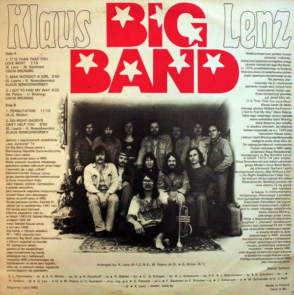 Klaus Lenz Big Band