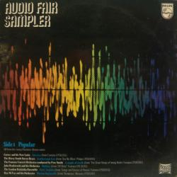 Audio Fair Sampler