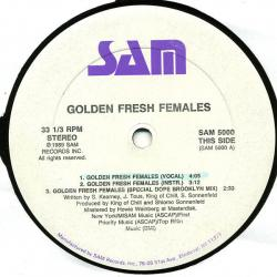 Golden Fresh Females / Turn It Out